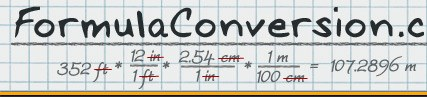 Feet To Meters Ft To M Metric Conversion Calculator